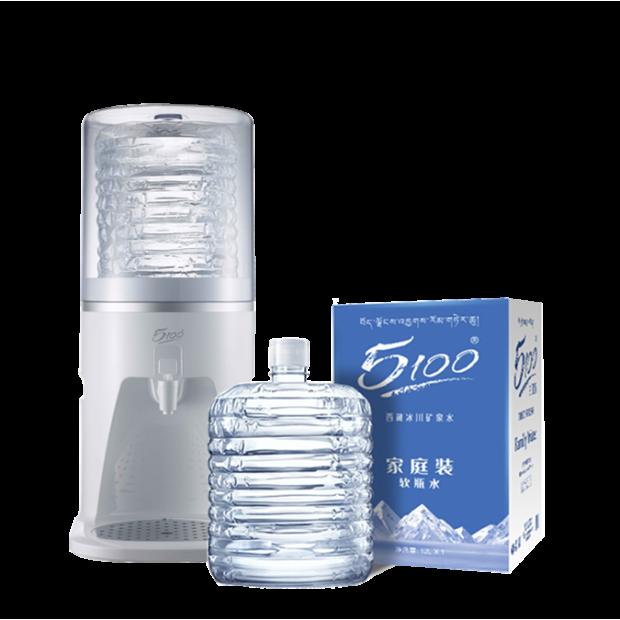 10桶 x 12升桶裝水 + Q5 5100專用台式室溫飲水機